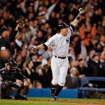 For second straight game Yankees hit game tying homerun in bottom of 9th