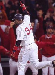 Red Sox outlast the Yankees, 5-4, in Game 5 of the league championship in the 14th inning at Fenway Park.
