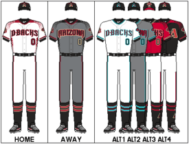 Arizona Diamondbacks unveil their new uniforms