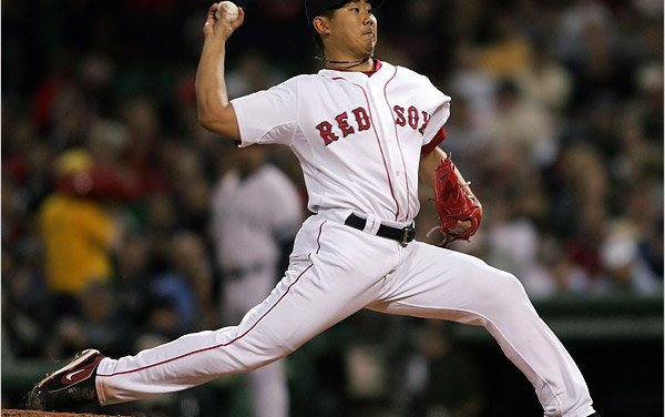Boston Red Sox come to terms with Japanese pitching star Daisuke Matsuzaka on a six-year, $52 million contract