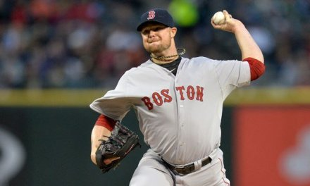 Jon Lester of the Boston Red Sox hurls a no-hitter at Fenway vs Kansas City
