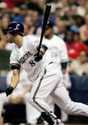 The Brewers become the third team in big league history to begin a game with three consecutive homers. In the Brew Crew's 10-5 victory over the Reds, Rickie Weeks, J.J. Hardy, and Ryan Braun start the Great American Ball Park contest with a bang.