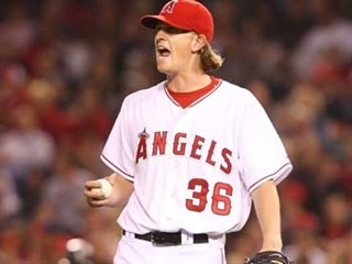 Anaheim right-hander Jared Weaver makes his major league debut and pitches seven shutout innings
