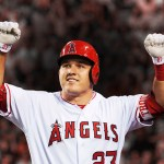 Angels outfielder Mike Trout is the unanimous selection of the BBWAA for the American League's Most Valuable Player Award, after finishing as the writers' second choice during the previous two seasons to the Tigers' Miguel Cabrera. The 23-year-old South Jersey native becomes the youngest unanimous MVP selection in baseball history.
