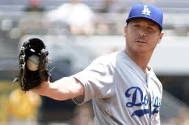 2015– TheDodgerssignfree agentpitcherScott Kazmirto a three-year $48 million contract. The signing gives the Dodgers a potential all-lefthandedstarting rotationas Kazmir joinsClayton Kershaw,Brett Anderson,Hyun-jin RyuandAlex Wood.