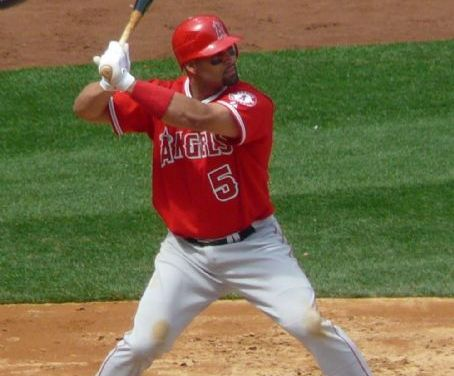 Albert Pujols becomes the ninth major leaguer to hit 600 home runsand the only player to reach the milestone with a grand slam. The 37 year-old Los Angeles DH, the fourth youngest to accomplished the feat, behind only Babe Ruth, Alex Rodrigues, and Henry Aaron, goes deep in the fourth inning off Ervin Santana in the team's 7-4 victory over the Twins at Angel Stadium of Anaheim.