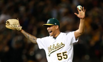 Sean Manaea tosses the 12th no-hitter in A's franchise history