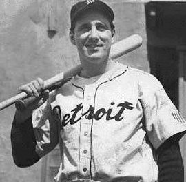 Hank Greenberg of the Detroit Tigers makes a dramatic return after serving in World War II