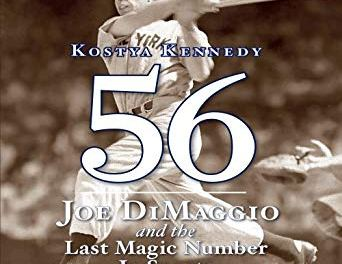 Joe DiMaggio of the New York Yankees sets a new major league record by hitting in his 45th consecutive game