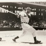 Luke Easter was a star whose Major League career started later than it should have. He was a 36 year old rookie whose best years were in the Negro Leagues. Joining the Indians full time in 1950, he was a star, slugging first basemen hitting 85 homers from 1950 to 1952 with over 100 RBI in '50 and '51.