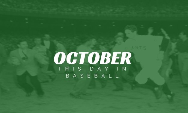 This Day In Baseball October