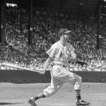 1952 - The Cardinals' Stan Musial gets his 2,000th hit, off Curt Simmons, as the Cardinals lose 4 - 2.
