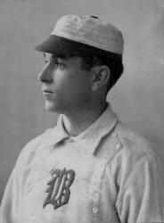 Future Hall of Fame outfielder Hugh Duffy is born