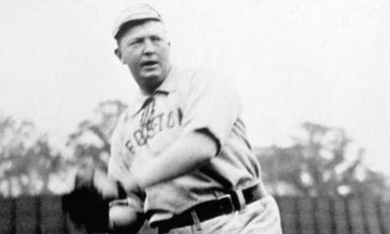Cy Young Wins Home Opener for Boston Pilgrims