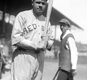 Babe Ruth breaks Ned Williamson's single-season home run mark