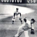 In Game 3 of the World Series Don Larsen and Ryne Duren combine for a shutout as New York wins 4 - 0 over the Milwaukee Braves