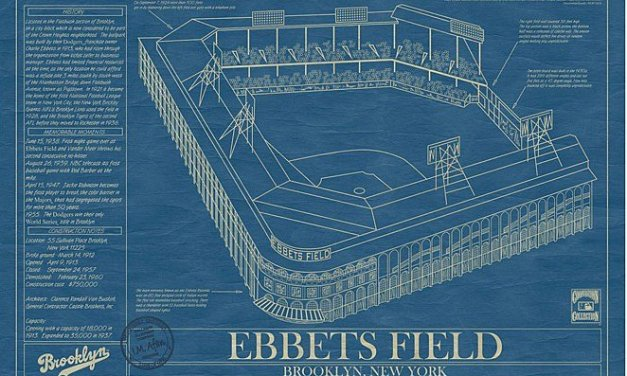 Ebbets Field Opens
