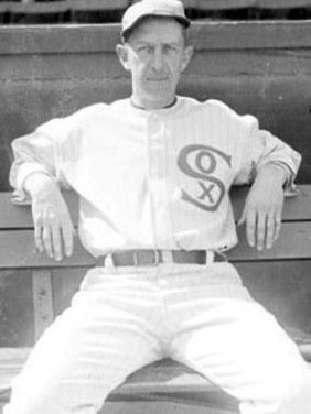 Eddie Collins of the Chicago White Sox collects his 3,000th hit