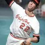 Jim Palmer records the 200th victory of his career