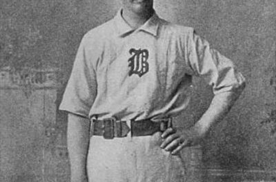 "Charles ""Kid"" Nichols of the Boston Beaneaters wins his 300th career game"