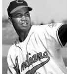 Larry Doby of the Cleveland Indians and Hank Thompson of the St. Louis Browns make history