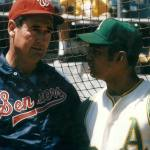 Ted Williams makes managerial debut for Washington Senators