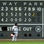 Red Sox hit 4 straight homeruns of Chase Wright