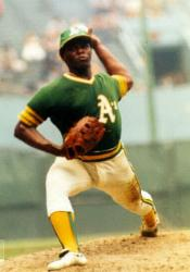 After signing a contract as a free agent with the A's less than a month ago 37 year-old Vida Blue unexpectedly retires