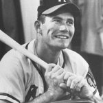 Milwaukee Braves slugger Joe Adcock sets a major league record by accumulating 18 total bases in a single game