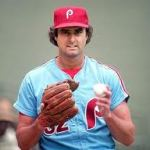 left-handed pitcher Steve Carlton is elected to the Hall of Fame by the baseball writers