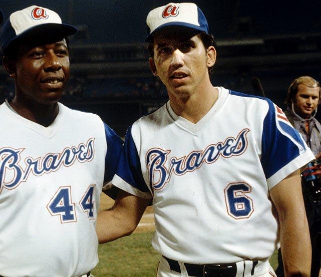 Dave Johnson of the Atlanta Braves sets a single-season record for most home runs by a second baseman