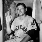 Early Wynn of the Cleveland Indians wins the 300th – and final – game of his major league career