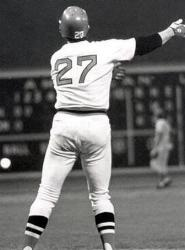 Carlton Fisk becomes a free agent in paper work violation