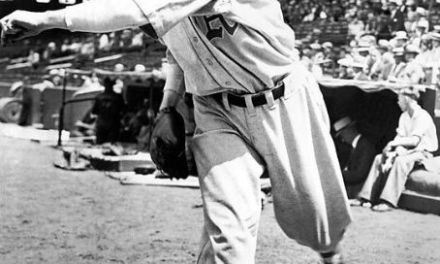 Lefty Grove of the Philadelphia A's wins his 30th game of the season