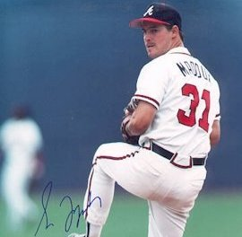 Atlanta Braves pitcher Greg Maddux wins the National League Cy Young Award for an unprecedented fourth straight time. Maddux had a remarkable 19-2 record with a 1.63 ERA, the second year his ERA is below 1.80.
