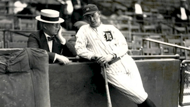 The Tigers release Ty Cobb, ending his 22-year association with the team