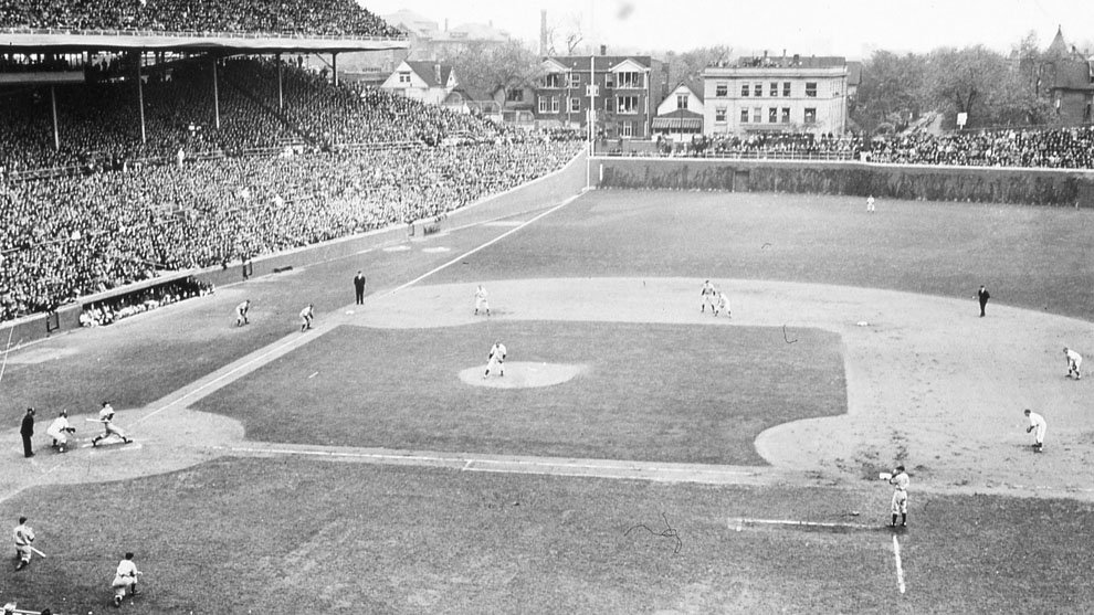 At a joint meeting inChicago, IL, it is decided that allbleacherprices will be raised to 50 cents, pavilion seats to 75 cents, andgrandstandseating to $1.00
