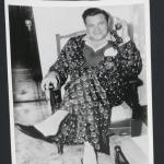 "1942 Babe Ruth, Original Photo in Hospital. Measures 8"" x 10"