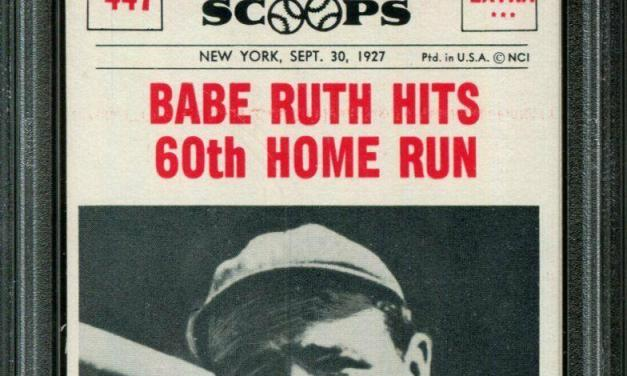 Babe Ruth becomes first player to hit 60 homeruns