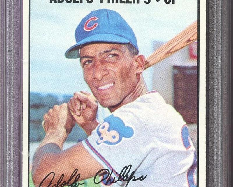 Adolfo Phillips enjoys a career day for the Chicago Cubs – Powers 3 homers vs Mets