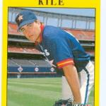 Darryl Kile Baseball Card 1991 Fleer Rookie Card #U90 Houston Astros - Mint Condition