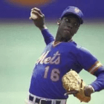 Dwight Gooden records most strikeouts