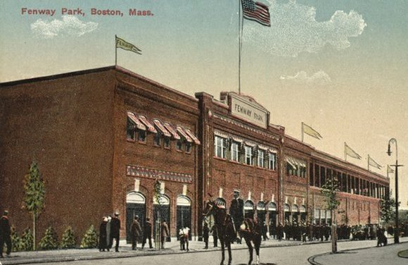 Fenway Park Opens – Boston beats New York