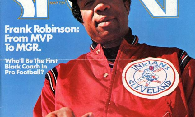 Frank Robinson – first black manager debuts