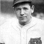 Harry Heilmann of the Detroit Tigers picks up six hits in a doubleheader to outduel Tris Speaker for the American League batting crown