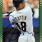 James Mouton autographed Baseball Card (Houston Astros) 1995 Score #125 Rookie