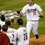 Former N.L. MVP Jeff Kent homers in his first at bat as a Houston Astro