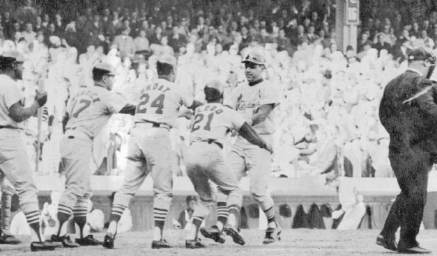 In the 1956 All-Star Game, Ken Boyer of the Cardinals makes three sparkling plays at 3B and gets 3 hits as the National League defeats the American League, 7 – 3