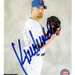 Kent Mercker autographed baseball card (Chicago Cubs) 2004 Topps Total #562