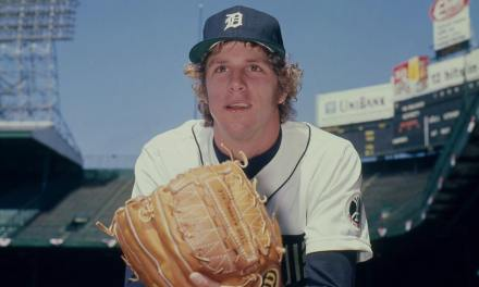 Mark the Bird Fidrych appears on SI Cover with Big Bird